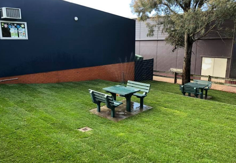 Pakenham Hills Primary School - New Turf for the Senior Sitting Area